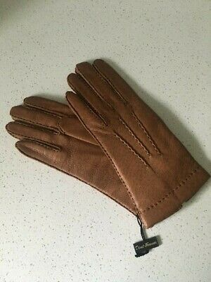 Vintage Ladies Hand Sewn Pig Skin Dent Fownes Gloves Size 7 New with tags