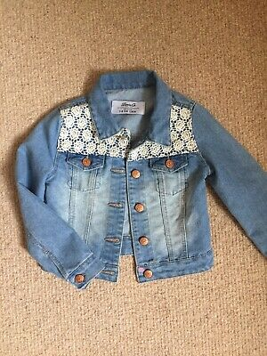 Girls Denim Jacket Age 7-8 Years