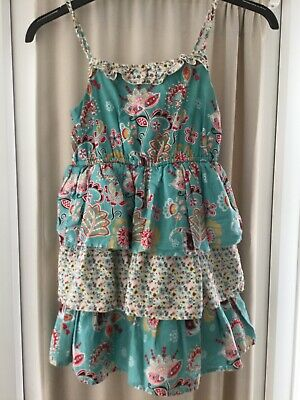 girls summer lined dress from marks and spencer aged 10