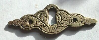 Old Brass Escutcheon 8 Available Price Is For One