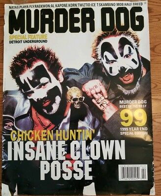 Insane Clown Posse - Murer Dog Magazine Poster halfbreed natas esham twiztid icp