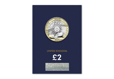 2019 Uk Captain Cook's Voyage  Certified Bu £2 Two Pound Coin Available Now