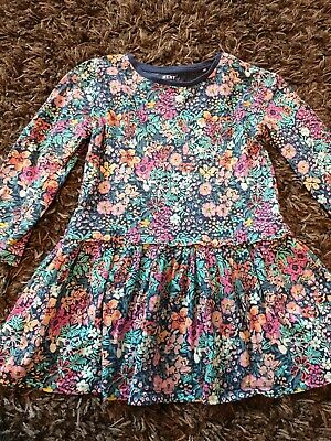 Next Girls Floral Dress Size 3-4 YearsEXCELLENT CONDITION