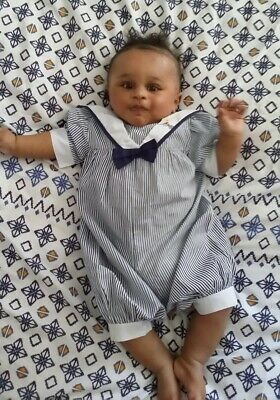 vintage baby sailor suit 4 to 6 mth.