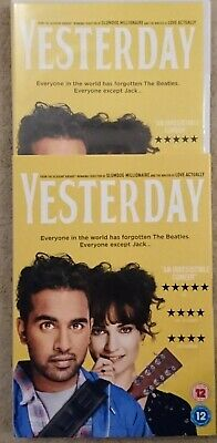 Yesterday DVD, 2019. Lilly James
