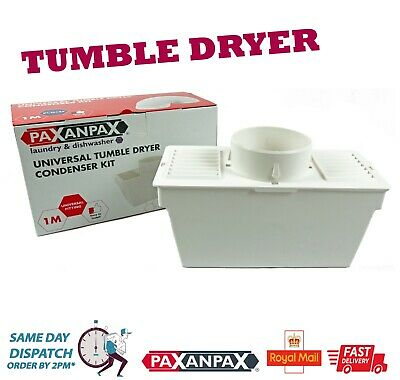 Tumble Dryer Condenser Vent Hose Kit /& Adaptor For Amica Haier Fits Most Makes
