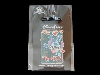 Disney Trading Pin DLR/WDW - Stitch So Cute But a Lot of Trouble