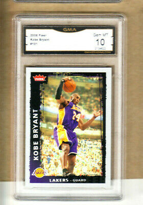 Kobe Bryant-2008-09 Fleer-#101-Graded Card-Lakers-10/10 GEM Mint-2134616