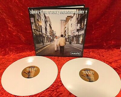 Oasis - What's The Story Morning Glory LP. Colored Vinyl. White. 3000