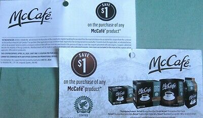 16X $1 off on McCafe Coffee Products Coupon Canada