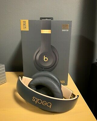 Beats Studio 3 Wireless Noise Canceling Headphones - Shadow Grey & Gold