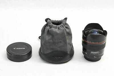 Canon EF 14mm f/2.8 L USM Lens EXCELLENT EOS DIGITAL 5D II III 7D 70D REBEL