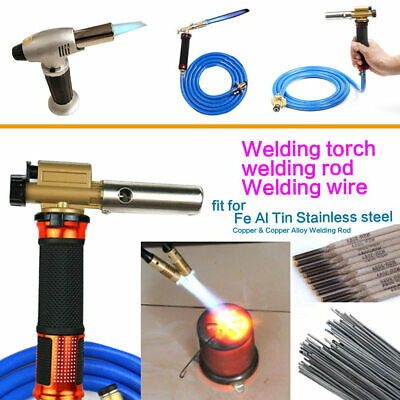 Gas Torch Welding Fire Maker Lighter Butane Burner Flame Gun Tool Portable Lot