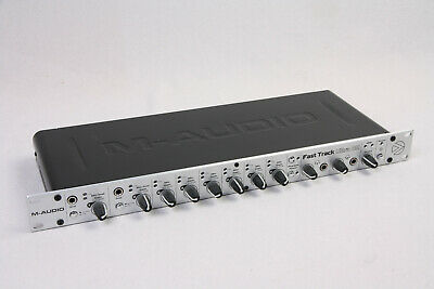 M-Audio Fast Track Ultra 8r USB Audio Interface 8 x 8 I/O - top Zustand