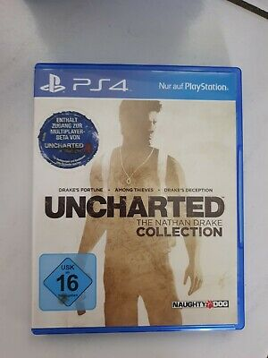 Uncharted - Nathan Drake Collection  - PS4 - Sony Playstation 4