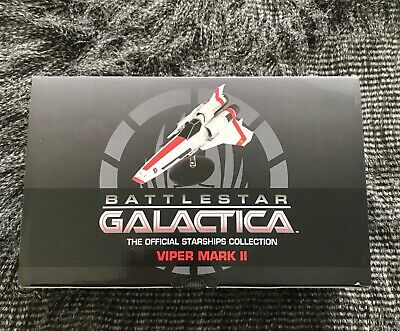 Eaglemoss Battlestar Galactica Ship Collection Viper Mark II Model