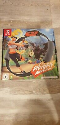NEU/NEW Ring Fit Adventure -- Standard Edition (Nintendo Switch, 2019)