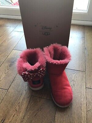 Authentic girls red Disney UGGs - Minnie Mouse size 2
