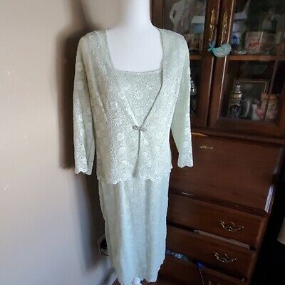 Mother of the bride/special occasion dress set size 10
