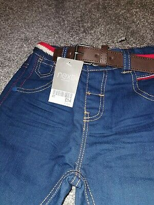 Next Denim Boys Jeans Adjustable Waist Age 2-3 BRAND NEW