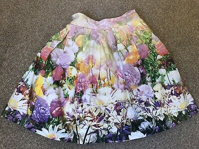 Girls Next Floral Skirt Age 5