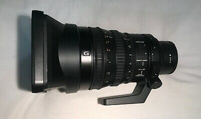 Sony FE PZ 28-135mm F4 G OSS E Mount Lens with Front / Rear Caps & Hood
