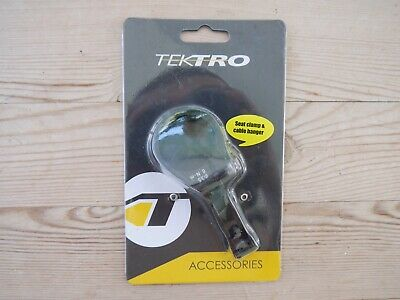 3 Colors 3 Size Tektro 1276A Seat Clamp /& Cable Hanger 30 34.9mm 31.8