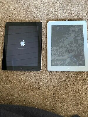 Apple iPad 2 Bundle 1-16GB, Wi-Fi+Cellular (AT&T), Black 1 White For Parts Only