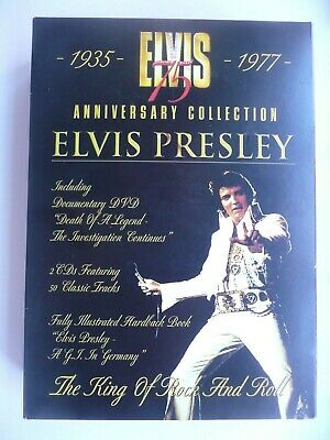 Elvis Presley - 75th Anniversary Collection 1935-1977 (DVD 2009, 3-Disc Box Set)
