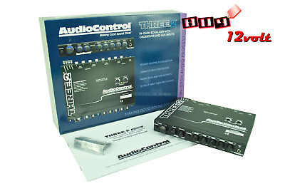 AudioControl Three.2 In-Dash Pre-Amp Equalizer with Dual Auxiliary Inputs