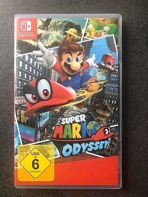 Nintendo Switch SUPER MARIO ODYSSEY Spiel Peach Luigi Bowser