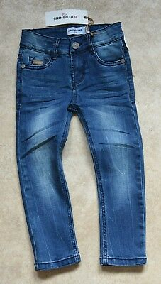 New Redskins Boys Jeans Adjustable Waist Blue Denim 3Yrs BNWT