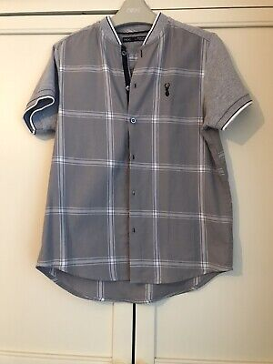 Boys Grey Shirt From Next Age 8 Yrs Brand New