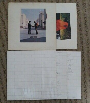 Pink Floyd - 3 Schallplatten, Vinyl, LPs (1LP, 1DLP - The Wall, Wish You ...)