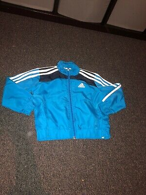 Adidas Light Weight Tracksuit Jacket Zip Up Top. Aged 3-4 Years