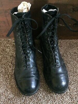 """Antique Wingfoot Good Year Lace Up Boot Women's Size 7.5"""" 8"""" Tall"""
