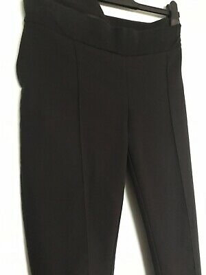 Black Smart Formal Pregnancy Trousers Uk 14 R by Blooming Marvellous Mothercare