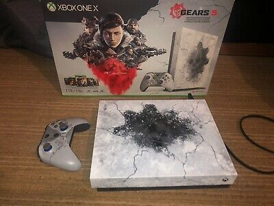 Xbox One X 1TB Gears 5 Limited Edition Console - Xbox One X Gears Of War 5