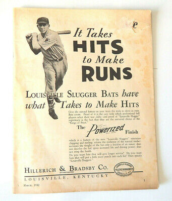The Athletic Journal Magazine March 1932