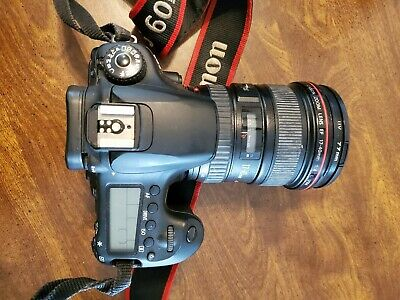 Canon EOS 60D 18.0MP Digital SLR Camera with Canon EF 17-40 1:4 L Lens