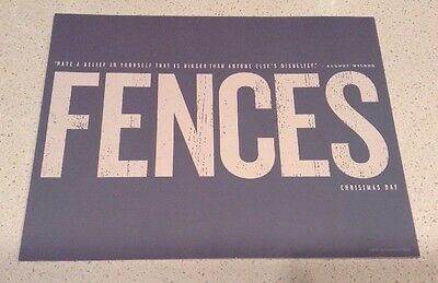 FENCES Movie SAG FYC Promo Booklet Denzel Washington Viola Davis August Wilson