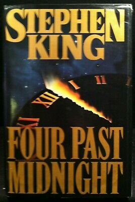 Four Past Midnight by Stephen King (1990, Hardcover) First Edition