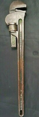Berylco Non-Sparking Beryllium Copper Adjustable Pipe Wrench Size No. 24