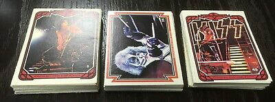 Kiss Donruss 1978 Series 1 Trading Cards Complete Set 66 Cards