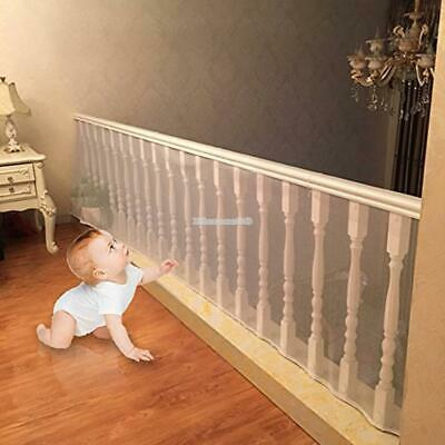 Indoor/Outdoor Baby Safety Stair Railing Net | Baby Proofing Stair Protection AU