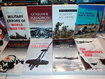 Lot of 8 World War II (WWII) Bools from Cassell Military Paperbacks