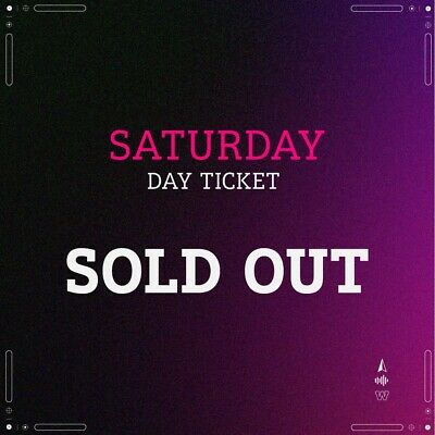 Wireless Festival  Tickets X 3 For Saturday 4th July 2020 Sold Out.