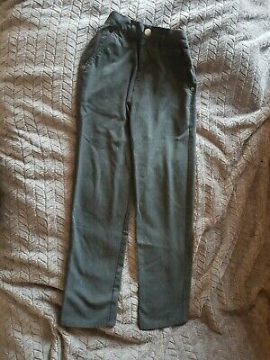 next slim fit school jeans style boys trouser age 12 years grey coulour job lot