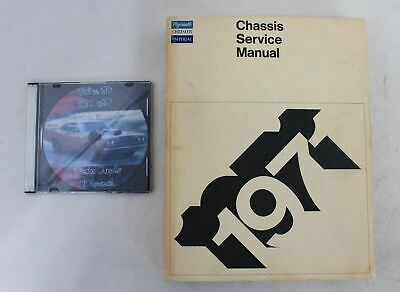 Plymouth Chrysler Imperial Chassis Service Manual 1971 & Dodge Chrysler CD