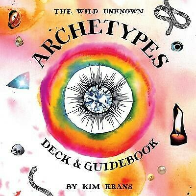 The Wild Unknown Archetypes Deck and Guidebook by Krans, Kim -Hcover